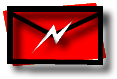 Envelope with Lightning Icon